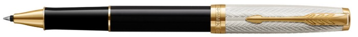 Parker Roller ball, Sonnet Fougère 25th Anniversary Edition series Black/Silver GT