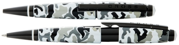 Cross Retractable Roller ball, Edge series Gray camouflage BKT