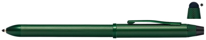 Cross Multifunction pen, Tech3+ series Green PVD with stylus