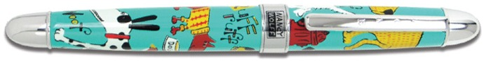 Acme Writing Tools Roller ball, Nancy Wolff series Multicolor