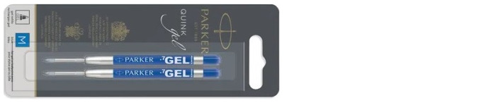 Parker  Gel refill for ballpoint pen, Refill & ink - Recharge & encre serie Blue ink