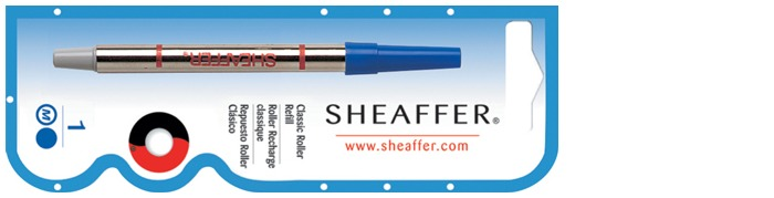 Sheaffer Roller refill, Refill & ink Classic serie Blue ink (BIG)