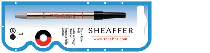 Sheaffer Roller refill, Refill & ink series Classic Black ink  (BIG)