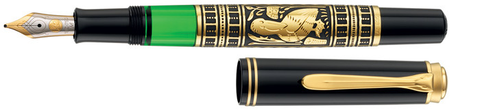Pelikan Fountain pen, Toledo serie Gold M700