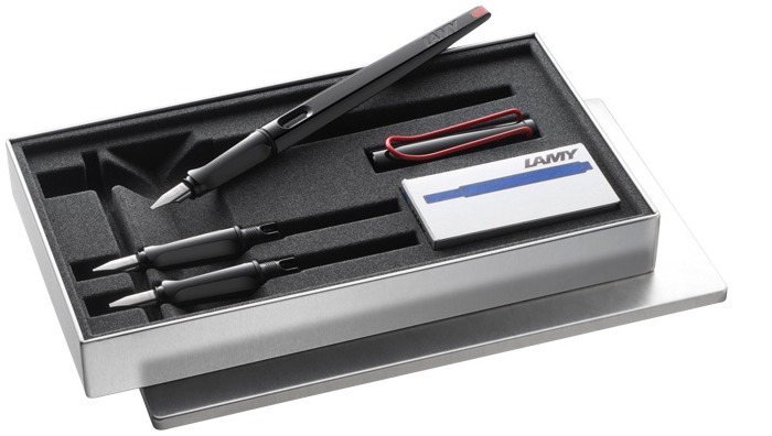 Lamy  Fountain pen set, Joy serie Black