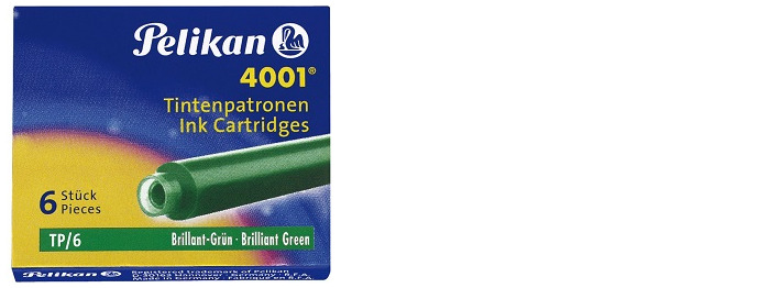 Pelikan Ink cartridge, Refill & ink series Green ink (Short)