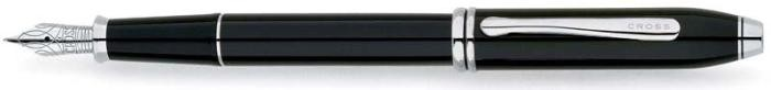 Cross Fountain pen, Townsend serie Black RT