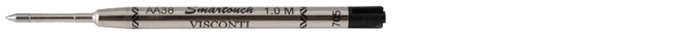 Visconti Gel refill for ballpoint pen, Refill & ink - Recharge & encre series Black ink