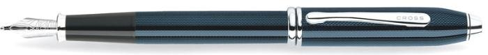 Cross Fountain pen, Townsend serie Blue