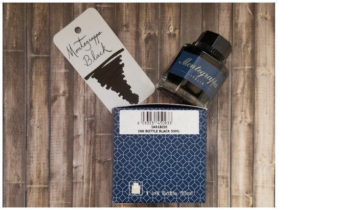 Montegrappa  Ink bottle, Refill & ink - Recharge & encre serie Black ink