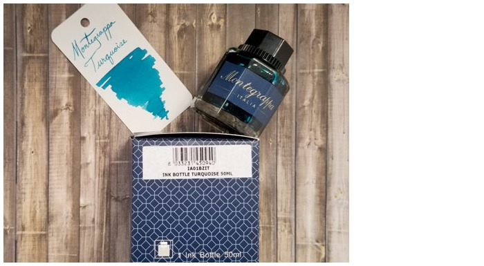 Montegrappa  Ink bottle, Refill & ink - Recharge & encre serie Turquoise ink