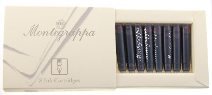 Montegrappa  Ink cartridge, Refill & ink - Recharge & encre serie Bordeaux ink