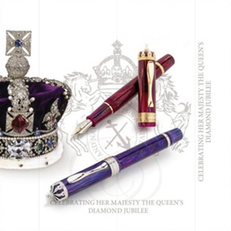 Visconti  Queen Elizabeth II 60th Anniversary Diamond Jubilee