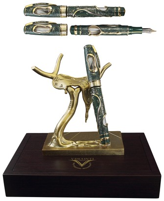 Boutique du stylo - Stylo plume Visconti , série Salvador Dali Limited Edition (2013) Vert
