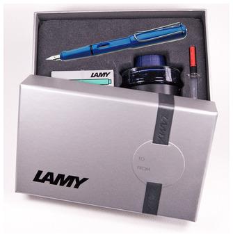 Ensemble stylo plume Lamy, série Safari Bleu f2ea67df4d5e
