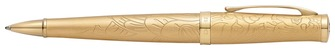 Boutique du stylo - Cross Ballpoint pen, 2015 Year of the Goat series 23kt gold plated