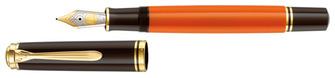 Boutique du stylo - Stylo plume Pelikan, série Souverän® 800 burnt orange