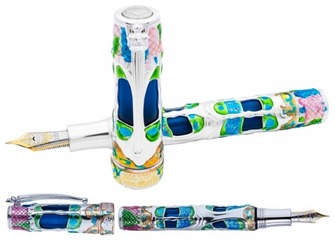Collector pen store stylo plume stylo canada boutique du stylo visconti fountain pen casa batll limited edition series gumiabroncs Image collections